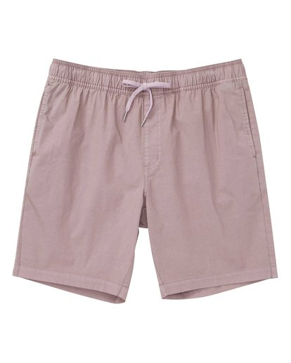 0 Larry Layback Shorts Purple M239TBLL Billabong