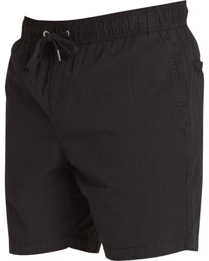 2 Larry Layback Walkshorts Black M239TBLL Billabong