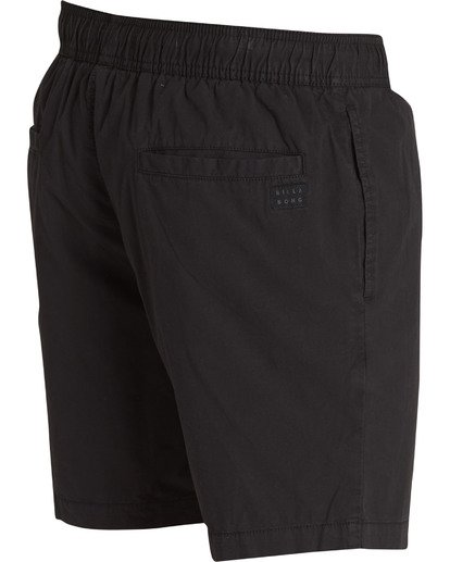 3 Larry Layback Walkshorts Black M239TBLL Billabong