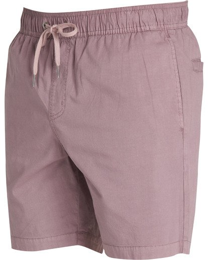2 Larry Layback Walkshorts Beige M239TBLL Billabong