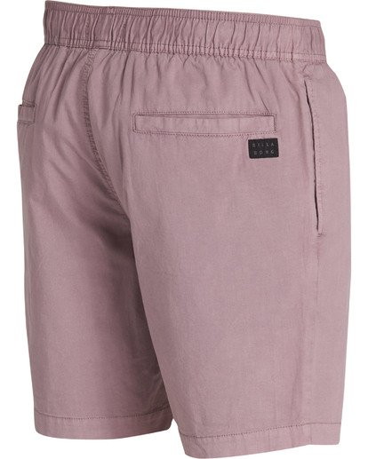 3 Larry Layback Shorts Purple M239TBLL Billabong