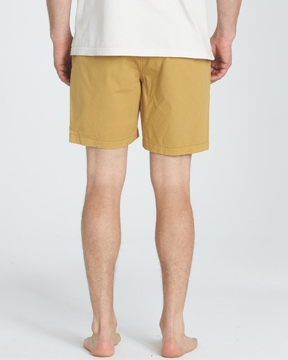 5 Larry Layback Walkshorts Yellow M239TBLL Billabong