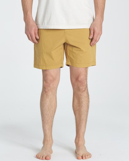 2 Larry Layback Walkshorts Yellow M239TBLL Billabong