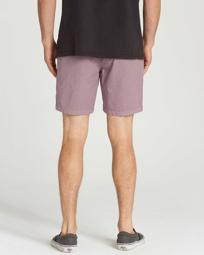 5 Larry Layback Shorts Purple M239TBLL Billabong