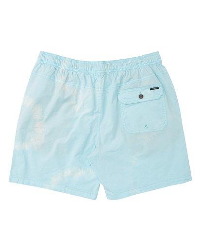 1 Vibes Tie Dye Elastic Walkshorts Grey M239TBVE Billabong