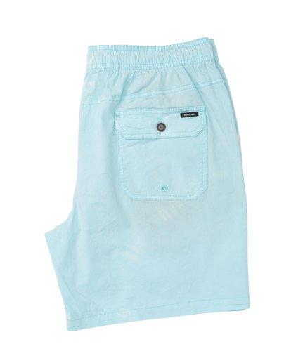 3 Vibes Tie Dye Elastic Walkshorts Grey M239TBVE Billabong