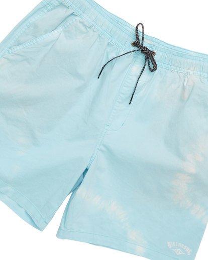 4 Vibes Tie Dye Elastic Walkshorts Grey M239TBVE Billabong