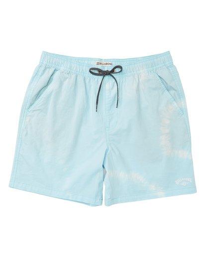 0 Vibes Tie Dye Elastic Walkshorts Grey M239TBVE Billabong