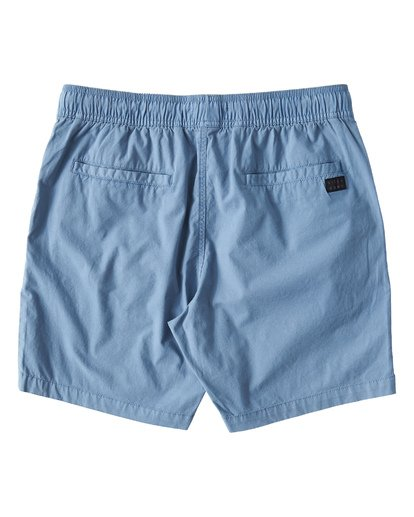 1 Larry Layback Walkshorts Blue M239VBLL Billabong