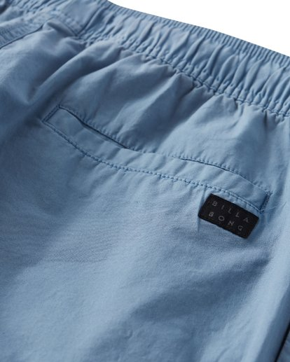 5 Larry Layback Walkshorts Blue M239VBLL Billabong