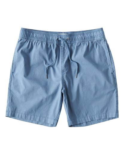 0 Larry Layback Walkshorts Blue M239VBLL Billabong