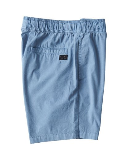 3 Larry Layback Walkshorts Blue M239VBLL Billabong