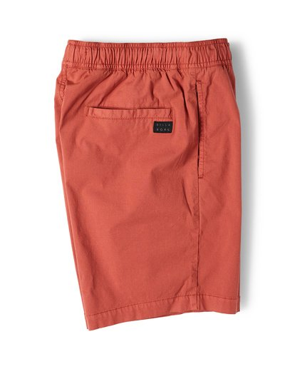 6 Larry Layback Walkshorts Beige M239VBLL Billabong
