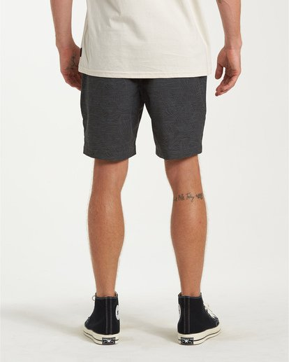 2 Larry Layback Sunday Walkshorts White M241VBLS Billabong