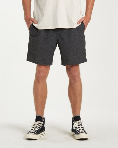 0 Larry Layback Sunday Walkshorts White M241VBLS Billabong