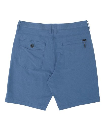 "4 Surftrek Heather Walkshort 20"" Blue M2421BSH Billabong"