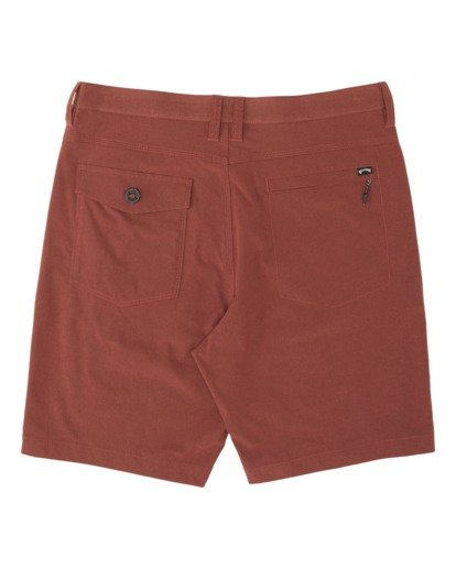 4 Surftrek Heather Walkshorts Brown M2421BSH Billabong