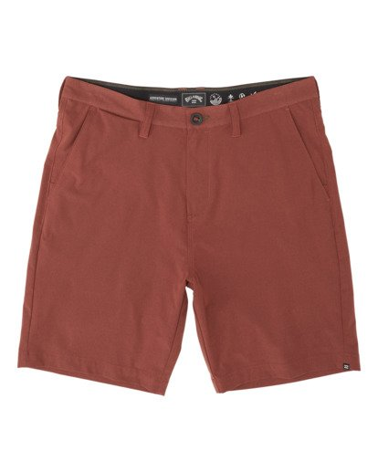 3 Surftrek Heather Walkshorts Brown M2421BSH Billabong
