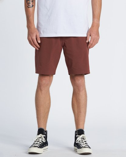 0 Surftrek Heather Walkshorts Brown M2421BSH Billabong