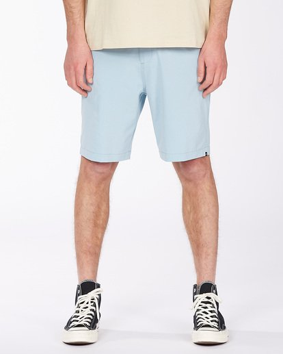 2 Surftrek Heather Walkshorts Blue M2421BSH Billabong