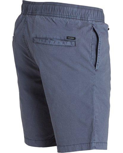 4 Larry Stretch Elastic Shorts Grey M244QBLS Billabong
