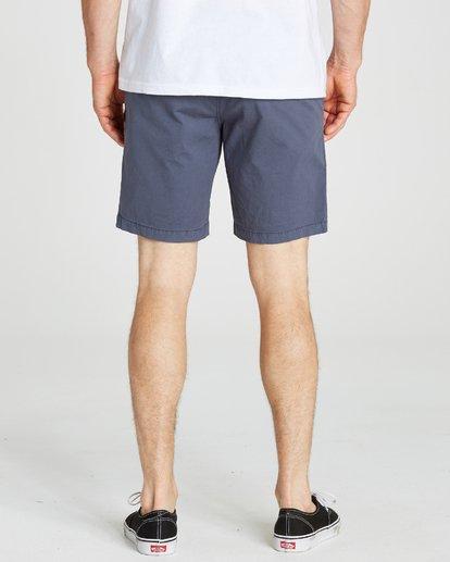 6 Larry Stretch Elastic Shorts Grey M244QBLS Billabong