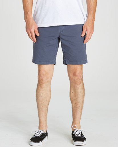 5 Larry Stretch Elastic Shorts Grey M244QBLS Billabong