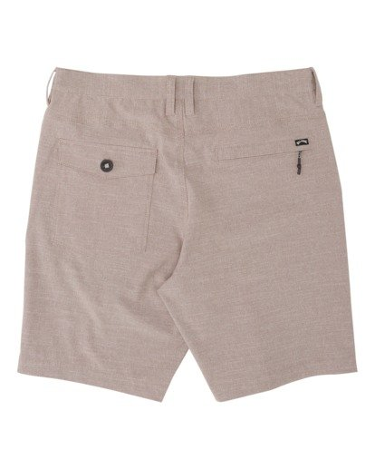 "5 A/Div Surftrek Oxford Walkshort 19"" Orange M2451BSO Billabong"