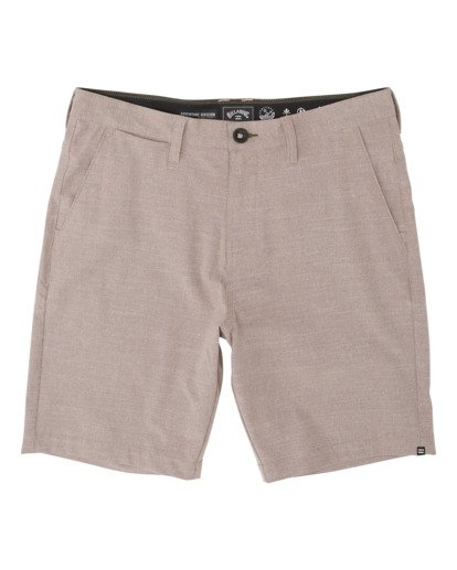 "4 A/Div Surftrek Oxford Walkshort 19"" Orange M2451BSO Billabong"