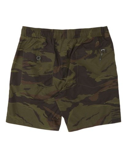 4 Surftrek Perf Elastic Walkshorts Black M2461BSP Billabong
