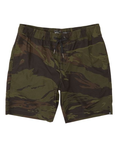 3 Surftrek Perf Elastic Walkshorts Black M2461BSP Billabong