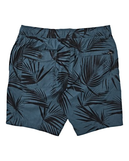 4 Surftrek Perf Elastic Walkshorts Blue M2461BSP Billabong