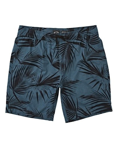 3 Surftrek Perf Elastic Walkshorts Blue M2461BSP Billabong