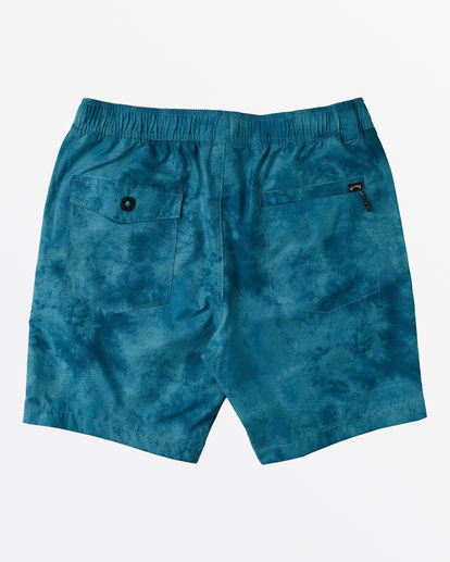 "5 Surftrek Perf Elastic Walkshort 18"" Blue M2461BSP Billabong"