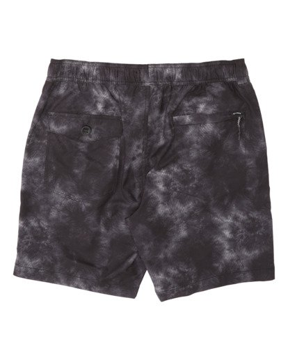 4 Surftrek Perf Elastic Walkshorts Grey M2461BSP Billabong