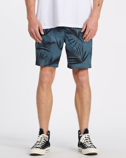 0 Surftrek Perf Elastic Walkshorts Blue M2461BSP Billabong