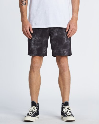 0 Surftrek Perf Elastic Walkshorts Grey M2461BSP Billabong