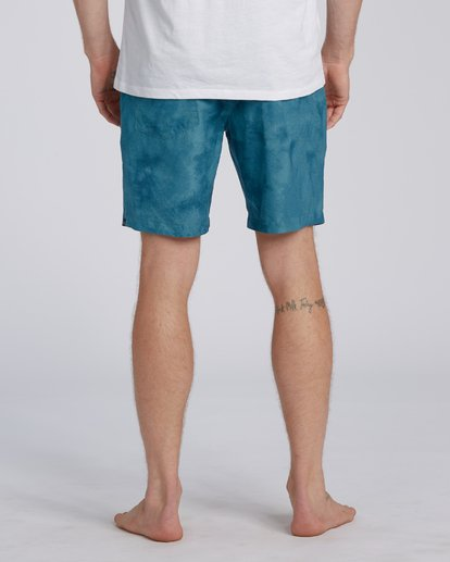 8 Surftrek Perf Elastic Walkshorts Blue M2461BSP Billabong