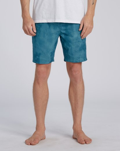 5 Surftrek Perf Elastic Walkshorts Blue M2461BSP Billabong