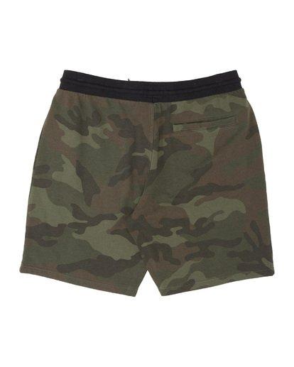 4 Wave Washed Sweat Shorts Black M2501BWS Billabong