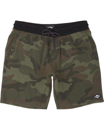 3 Wave Washed Sweat Shorts Black M2501BWS Billabong