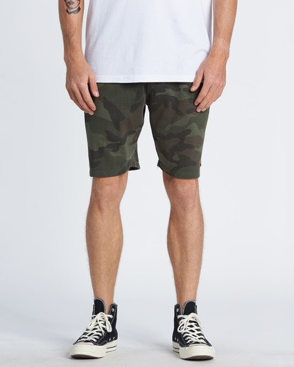 0 Wave Washed Sweat Shorts Black M2501BWS Billabong
