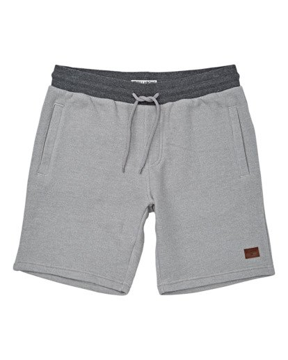 "3 Balance 19"" SweatShort 19"" Grey M250VBBS Billabong"