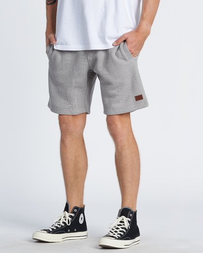"1 Balance 19"" SweatShort 19"" Grey M250VBBS Billabong"