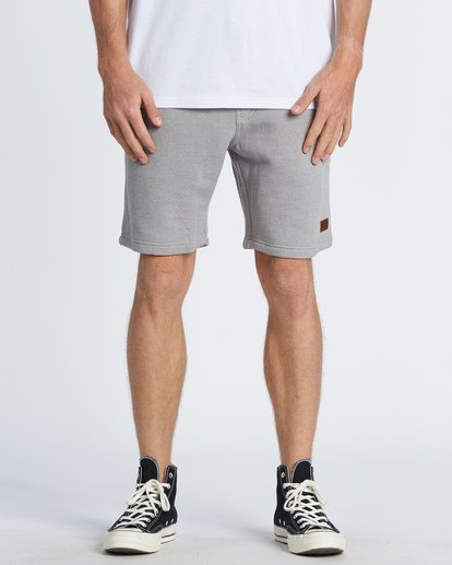 "9 Balance 19"" SweatShort 19"" Grey M250VBBS Billabong"