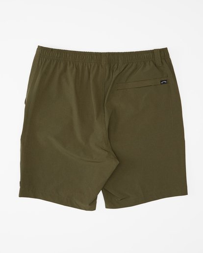 6 Transport Elastic Short Green M2512BTE Billabong