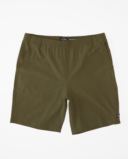 3 Transport Elastic Short Green M2512BTE Billabong