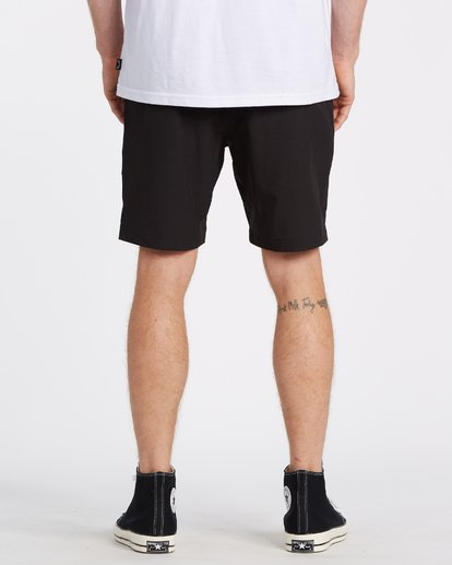 3 Transport Elastic Short Black M2512BTE Billabong