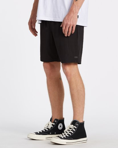 1 Transport Elastic Short Black M2512BTE Billabong
