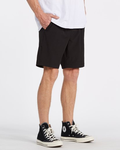 2 Transport Elastic Short Black M2512BTE Billabong